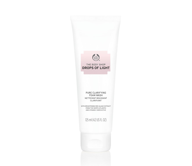The Body Shop Drops Of Light Face Cleanser