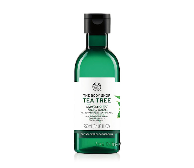 The Body Shop Tea Tree Face Cleanser