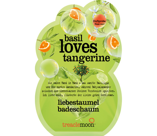 treaclemoon Basil loves Tangerine Badeschaum