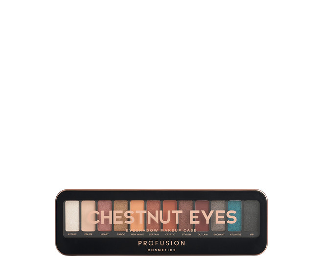 PROFUSION Chestnut Eyes Eyeshadow Makeup Case