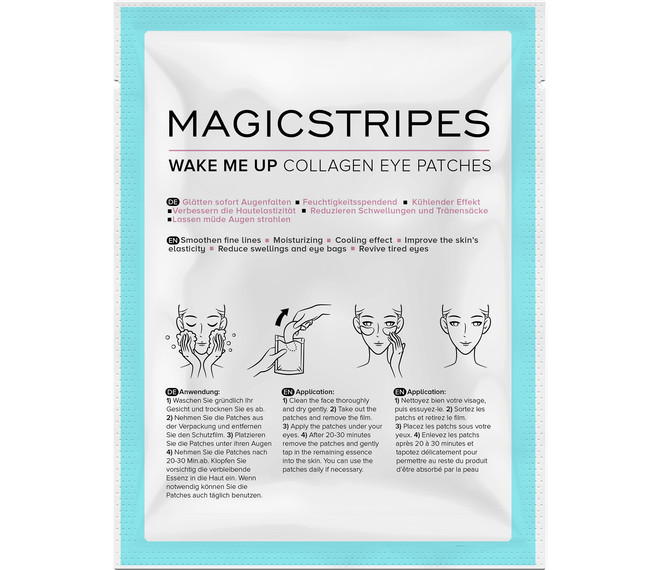 MAGICSTRIPES Wake Me Up Collagen Eye Patches Augenpatches