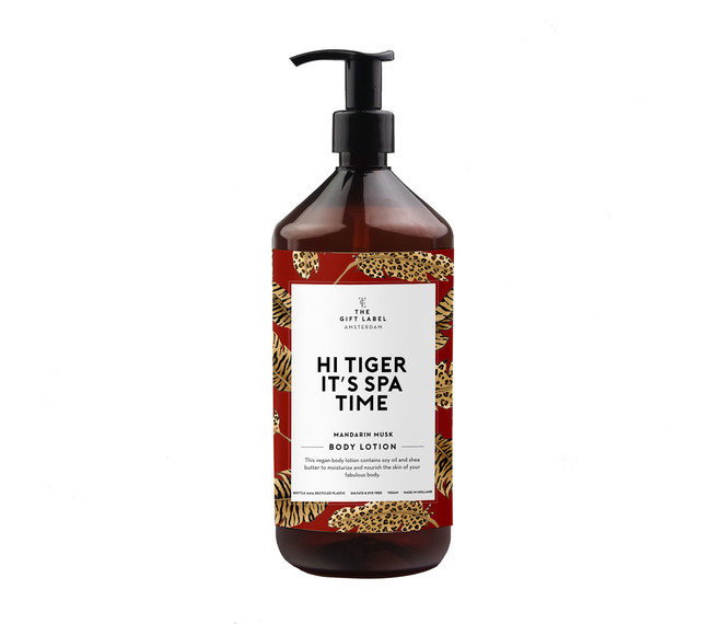 THE GIFT LABEL HI TIGER IT'S SPA TIME Body Lotion