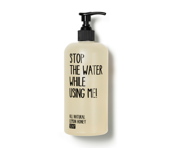 STOP THE WATER WHILE USING ME Lemon Honey Soap