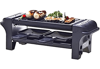 NOUVEL Raclette-Grill - Raclette (Metal/Nero)