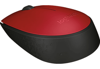 LOGITECH M171, rosso - Mouse wireless (Rosso)