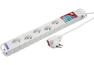 STEFFEN Power Strip Twist 5xT13 - Strip alimentazione (Bianco)